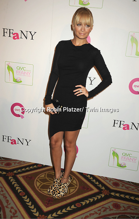 "Nicole Richie attends the  2011 QVC Presents ""FFANY Shoes on Sale"" Gala on October 13, 2011 at The Waldorf=Astoria Hotel in New York City. The event benefits Breast Cancer Research."