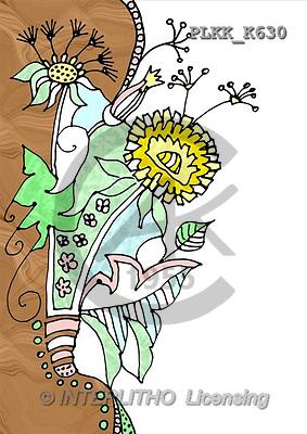 Kris, FLOWERS, paintings(PLKKK630,#F#) Blumen, flores, illustrations, pinturas ,everyday
