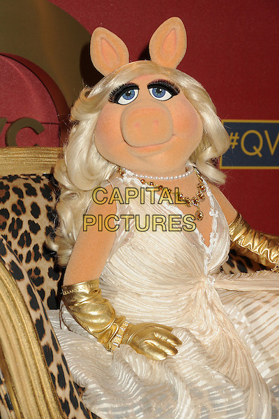 28 February 2014 - Los Angeles, California - Miss Piggy. QVC Presents Red Carpet Style held at the Four Seasons Hotel. <br /> CAP/ADM/BP<br /> &copy;Byron Purvis/AdMedia/Capital Pictures