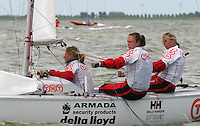 20th SPA Regatta - Medemblik.26-30 May 2004..Copyright free image for editorial use. Please credit Peter Bentley..Annelies Thies - NED