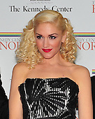 Gwen Stefani arrives for the formal Artist's Dinner at the United States Department of State in Washington, D.C. on Saturday, December 4, 2010..Credit: Ron Sachs / CNP.
