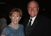 NWA Democrat-Gazette/CARIN SCHOPPMEYER Angela and UA Trustee Mark Waldrip attend Towers of Old Main.
