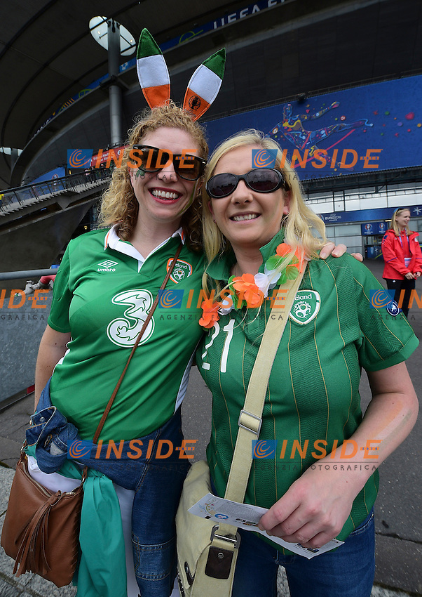 supporters Ireland <br /> Paris 13-06-2016 Stade de France Football Euro2016 Ireland - Sweden / Irlanda - Svezia Group Stage Group E. Foto JB Autissier Panoramic / Insidefoto