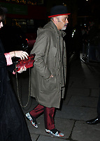 Christian Louboutin<br /> at National Portrait Gallery Gala 2019, London, England on 12 March 2019.<br /> CAP/JOR<br /> &copy;JOR/Capital Pictures