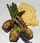 Lamb Chops, Perricone's Restaurant, Miami, Florida