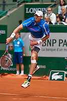 France, Paris, 01.06.2014. Tennis, French Open, Roland Garros,  John Isner (USA)<br /> Photo:Tennisimages/Henk Koster