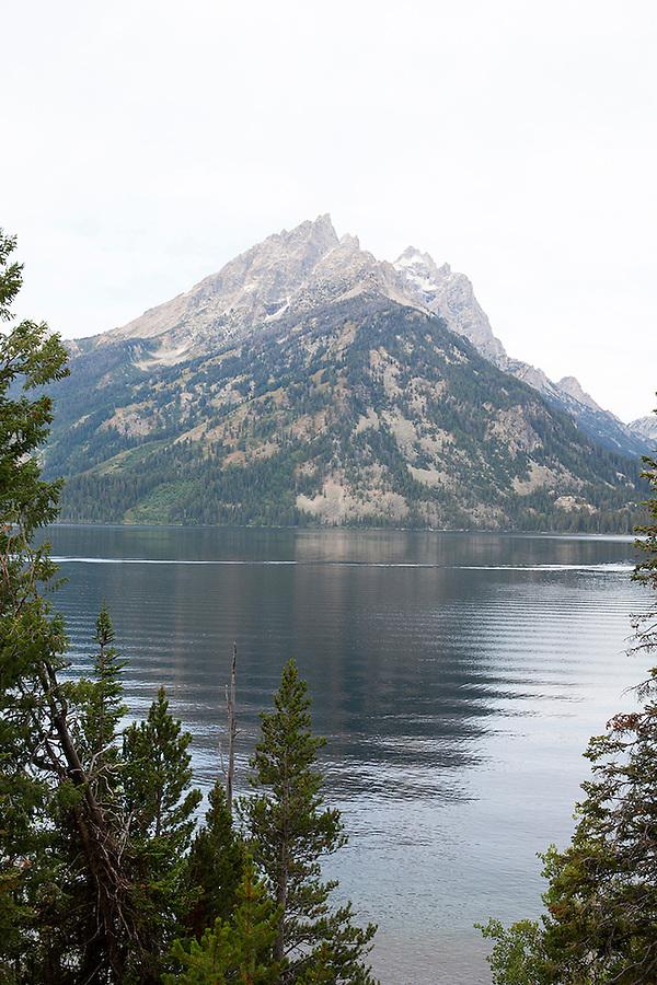 Jenny Lake in Grand Teton National Park, Wyoming