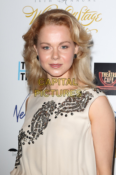 LONDON, ENGLAND - Amy Lennox arrives at the Whatsonstage Theatre Awards at the Prince of Wales Theatre, London on February 21st 2016<br /> CAP/ROS<br /> &copy;Steve Ross/Capital Pictures