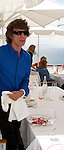Mick Jagger at Hotel Du Cap 05/18/2010