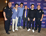 CORAL GABLES, FL - MARCH 05: Gianluca Ginoble, Piero Barone and Ignazio Boschetto of IL Volvo backstage during a meet and greet at Bank United Center on Saturday March 05, 2016 in Miami, Florida. ( Photo by Johnny Louis / jlnphotography.com )