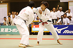 (L-R)<br /> Rui Takahashi,<br /> Ami Kondo,<br /> September 13, 2014 - Judo : <br /> All Japan Juior Judo Championships <br /> Women's -48kg Final<br /> at Saitama Kenritsu Budokan, Saitama, Japan. <br /> (Photo by Shingo Ito/AFLO SPORT) [1195]