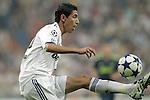 MADRID (15/(09/2010).- Champions League match Real Madrid vs Ajax Amsterdam. Angel  di Maria...Photo: Cesar Cebolla / ALFAQUI