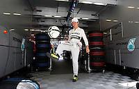 NÜRBURG, ALEMANHA, 06.07.2013 - F1 - TREINO CLASSIFICATÓRIO GP ALEMANHA - Nico Rosberg da Mercedes GP durante treino classificatorio para p Grande Premio da Alemanha de Formula 1 em Nürburg na Alemanha, neste sábado, 06. (Foto: Lukas Gorys / Pixathlon / Brazil Photo Press)