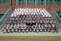 The Philadelphia Eagles pose for a team photo at the NovaCare Complex on October 13, 2014 in Philadelphia, Pennsylvania. (Photo by Hunter Martin/Philadelphia Eagles