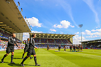 A general view of Turf Moor, home of Burnley<br /> <br /> Photographer Alex Dodd/CameraSport<br /> <br /> The Premier League - Burnley v Bournemouth - Sunday 13th May 2018 - Turf Moor - Burnley<br /> <br /> World Copyright &copy; 2018 CameraSport. All rights reserved. 43 Linden Ave. Countesthorpe. Leicester. England. LE8 5PG - Tel: +44 (0) 116 277 4147 - admin@camerasport.com - www.camerasport.com