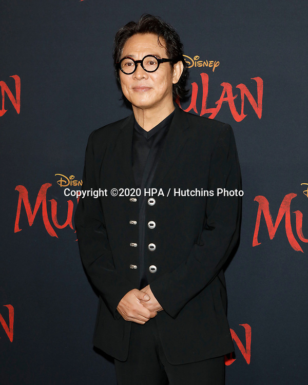 """LOS ANGELES - MAR 9:  Jet Li at the """"Mulan"""" Premiere at the Dolby Theater on March 9, 2020 in Los Angeles, CA"""