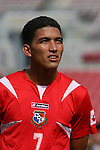 15 March 2008: Edwin Aguilar (PAN). The Panama U-23 Men's National Team defeated the Cuba U-23 Men's National Team 4-1 at Raymond James Stadium in Tampa, FL in a Group A game during the 2008 CONCACAF's Men's Olympic Qualifying Tournament.