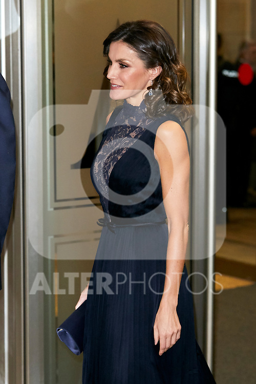 Queen Letizia Ortiz of Spain attends to Spanish Constitution 40th Anniversary Concert at National Auditorium of Music in Madrid, Spain. December 05, 2018. (ALTERPHOTOS/A. Perez Meca)