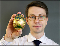 Cadbury's real golden egg sold for £20,000.