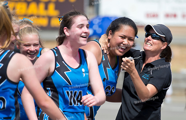 11/10/2015<br /> Netball Victoria State Titles 2015<br /> Bendigo Day 2<br /> Photo: Grant Treeby