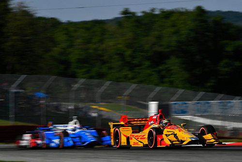 Verizon IndyCar Series<br /> Honda Indy 200 at Mid-Ohio<br /> Mid-Ohio Sports Car Course, Lexington, OH USA<br /> Sunday 30 July 2017<br /> Ryan Hunter-Reay, Andretti Autosport Honda<br /> World Copyright: Scott R LePage<br /> LAT Images<br /> ref: Digital Image lepage-170730-to-11015