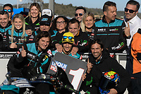 16th November 2019; Circuit Ricardo Tormo, Valencia, Spain; Valencia MotoGP, Qualifying Day; Moto2 rider Jorge Navarro (Speed UP9 1st on pole - Editorial Use