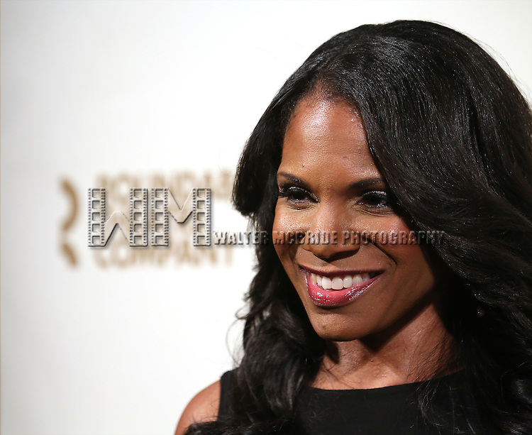 Audra McDonald attends the Roundabout Theatre Company's  50th Anniversary Gala at The Waldorf-Astoria on February 29, 2016 in New York City.