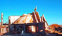 Paolo Soleri: ARCOSANTI. Cordes Junction, AZ. Photo '76.