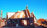 Paolo Soleri: ARCOSANTI. Cordes Junction, AZ. Photo '76.