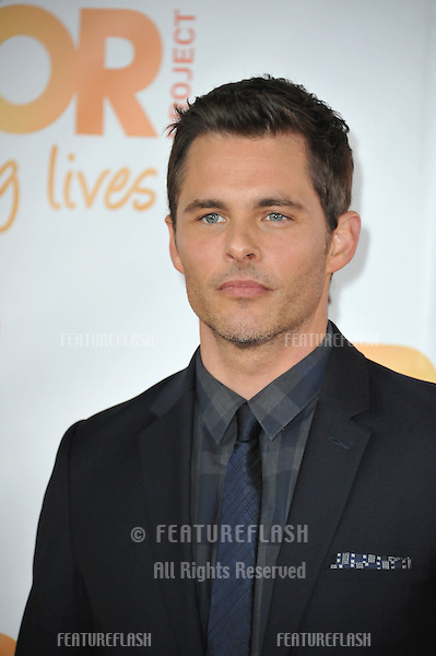 James Marsden at the 2014 TrevorLIVE Los Angeles Gala at the Hollywood Palladium.<br /> December 7, 2014  Los Angeles, CA<br /> Picture: Paul Smith / Featureflash