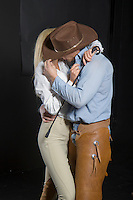 Western cowboy english riding romance novel cover image by Jenn LeBlanc and Studio Smexy
