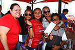 DENTON, TX - AUGUST 10: Money Gram party at Toyota Stadium in Frisco on August 10, 2019 in Frisco, Texas.