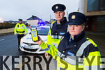Traffic Corps Gardai on the Christmas campaign for road safety from left: Garda Damien Callinan, Sgt. Gearoid Keating and Garda Fedelma O'Leary.