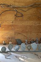 Sculptures and stones