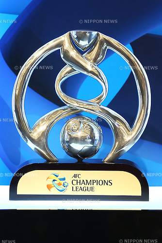 ACLAFC Champions League Trophy,<br /> FEBRUARY 19, 2015 - Football / Soccer : <br /> 2015 J.LEAGUE Press Conference <br /> at Grand Prince Hotel Shin-Takanawa, Tokyo, Japan. <br /> (Photo by Shingo Ito/AFLO SPORT)