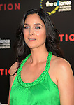 "HOLLYWOOD, CA. - July 13: Carrie-Anne Moss  arrives to the ""Inception"" Los Angeles Premiere at Grauman's Chinese Theatre on July 13, 2010 in Hollywood, California."