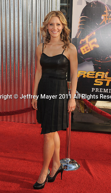 "UNIVERSAL CITY, CA - OCTOBER 02: KaDee Strickland  attends the ""Real Steel"" Los Angeles Premiere at Gibson Amphitheatre on October 2, 2011 in Universal City, California."