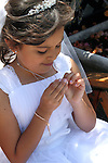 Sofia Saldana First Holy Communion