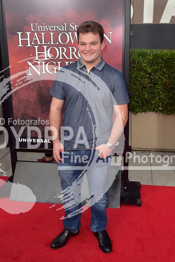 Jake Sim bei der Eröffnung der 'Halloween Horror Nights' in den Universal Studios. Universal City, 15.09.2017