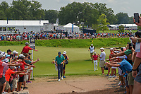 Rory McIlroy (NIR) heads for 12 during 4th round of the 100th PGA Championship at Bellerive Country Club, St. Louis, Missouri. 8/12/2018.<br /> Picture: Golffile   Ken Murray<br /> <br /> All photo usage must carry mandatory copyright credit (© Golffile   Ken Murray)