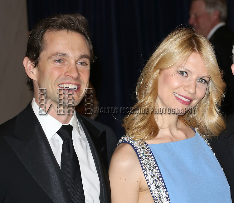 Hugh Dancy & Claire Danes  attending the  2013 White House Correspondents' Association Dinner at the Washington Hilton Hotel in Washington, DC on 4/27/2013