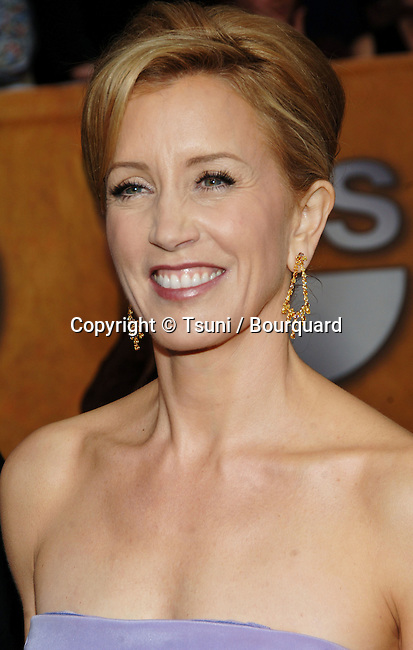 Felicity Huffman arriving at the 12th Annual Screen Actors Guild Awards® at the Shrine Auditorium In Los Angeles, Sunday January 29, 2006