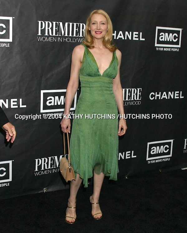 ©2004 KATHY HUTCHINS /HUTCHINS PHOTO.11TH PREMIERE WOMEN LUNCHEON.BEVERLY HILLS, CA.SEPTEMBER 14, 2004..PATRICIA CLARKSON