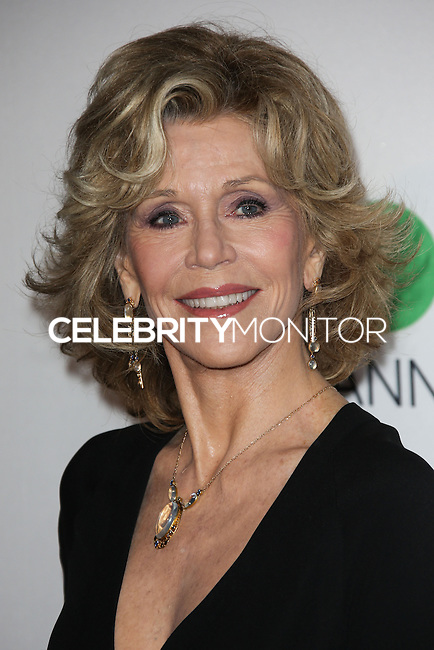 LOS ANGELES, CA, USA - MARCH 29: Jane Fonda at the MOCA's 35th Anniversary Gala Presented By Louis Vuitton held at The Geffen Contemporary at MOCA on March 29, 2014 in Los Angeles, California, United States. (Photo by Celebrity Monitor)
