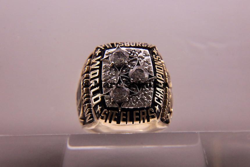 Super Bowl Ringe der einzelnen Siegerteams: XIII Pittsburgh Steelers - 1978