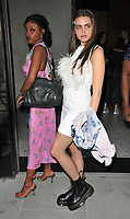 Zaina Miuccia and Bee Beardsworth at the Nobu Hotel Shoreditch official launch party, Nobu Hotel Shoreditch, Willow Street, London, England, UK, on Tuesday 15 May 2018.<br /> CAP/CAN<br /> &copy;CAN/Capital Pictures