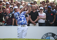 Scott Hend (AUS) on the 17th tee during Round Three of the 2016 BMW PGA Championship over the West Course at Wentworth, Virginia Water, London. 28/05/2016. Picture: Golffile   David Lloyd. <br /> <br /> All photo usage must display a mandatory copyright credit to © Golffile   David Lloyd.