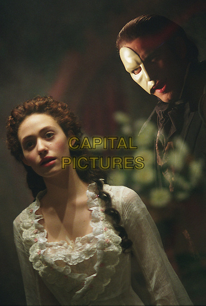 The Phantom of the Opera (2004) <br /> Emmy Rossum, Gerard Butler<br /> *Filmstill - Editorial Use Only*<br /> CAP/FB<br /> Image supplied by Capital Pictures