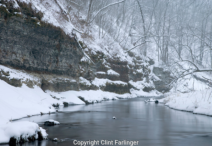 Coldwater Creek, Coldwater Creek Wildlife Area, Winneshiek County, Iowa