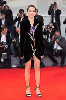 "Zoe Kravitz at the ""Racer And The Jailbird (Le Fidele)"" premiere, 74th Venice Film Festival in Italy on 8 September 2017.<br /> <br /> Photo: Kristina Afanasyeva/Featureflash/SilverHub<br /> 0208 004 5359<br /> sales@silverhubmedia.com"